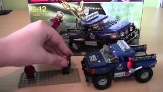 TheLegoShow12345 lego set 6867 Loki's Cocmic Cube Escape review