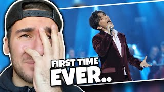 "FIRST TIME EVER REACTION to DIMASH - ""Love Is Like A Dream"""