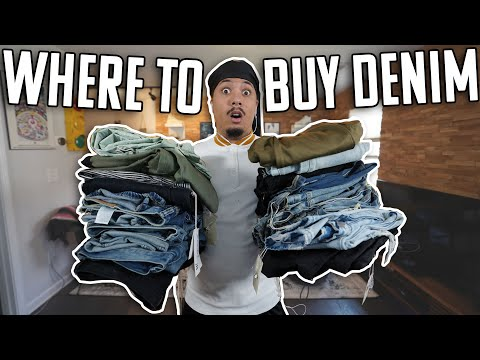 TOP 5 AFFORDABLE DENIM BRANDS TO BUY !!! WHERE TO BUY DENIM BACK TO SCHOOL !!!