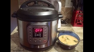 What I Eat In A Day- Dinner Navy Bean Soup Recipe In The Instant Pot