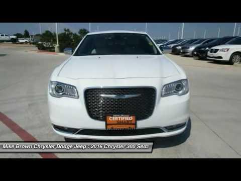 2016 Chrysler 300 Granbury Tx C48554 Youtube