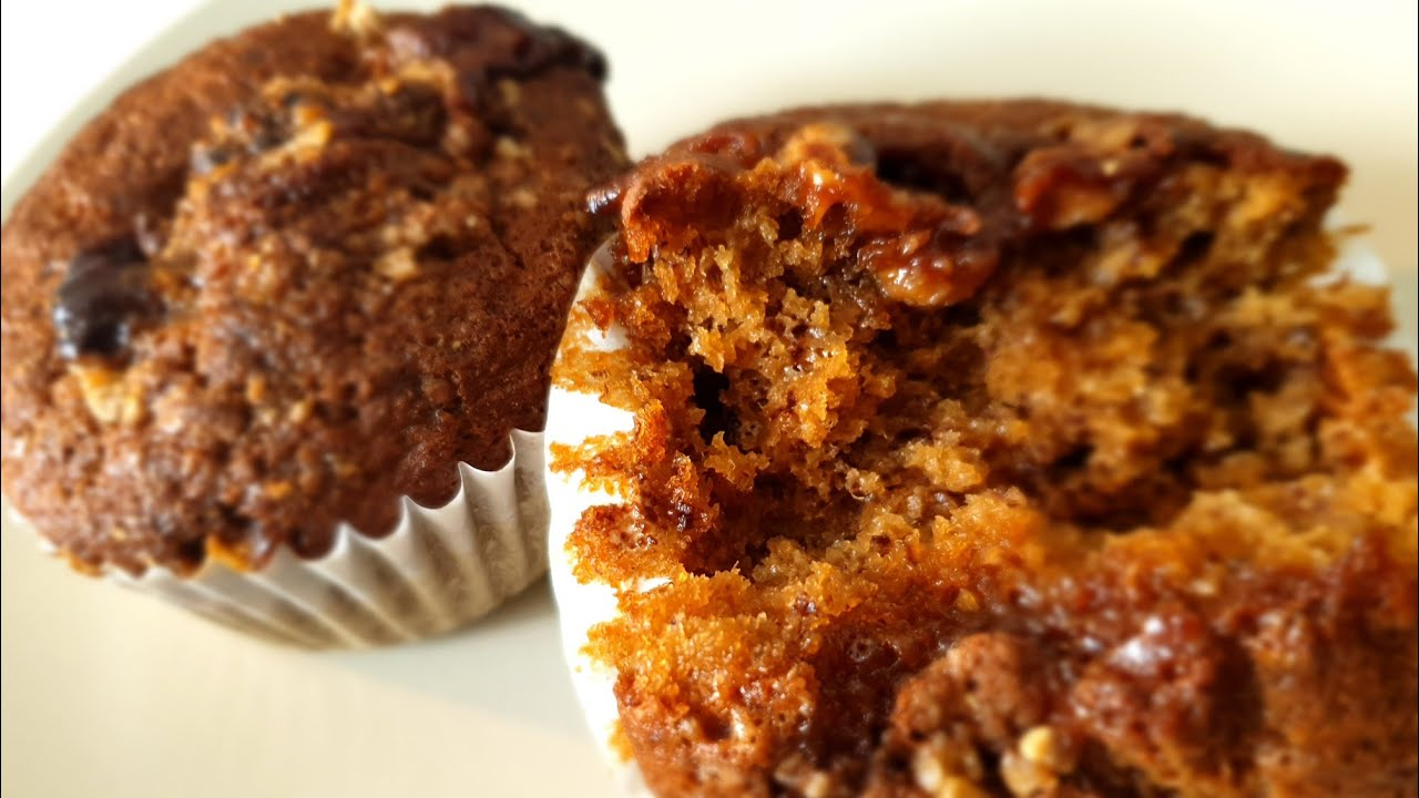Easy To Make Banana Muffins Muffins Aux Bananes Facile A Faire Youtube