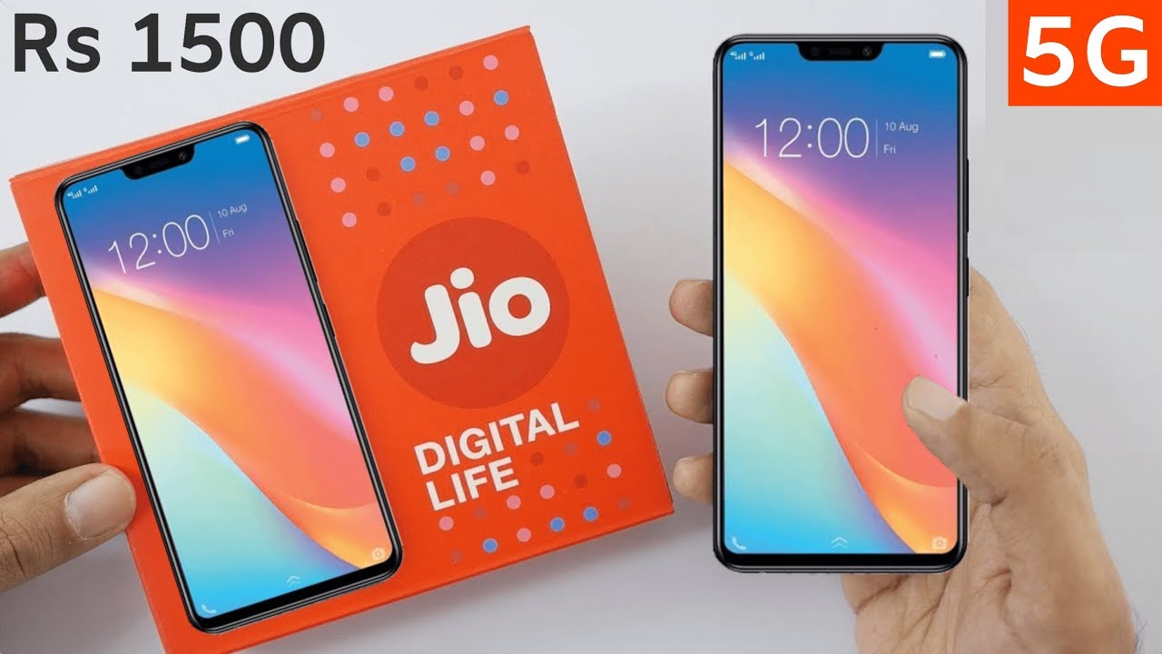Jio Phone 3 Camera 45mp 5g 6gb Ram Price 1500 Book Now First Look And Unboxing Youtube