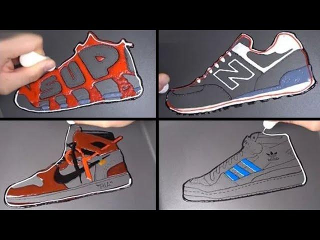 Shoes Brand Pancake Art - Nike jordan, Adidas, Vans, Supreme, Newbalance