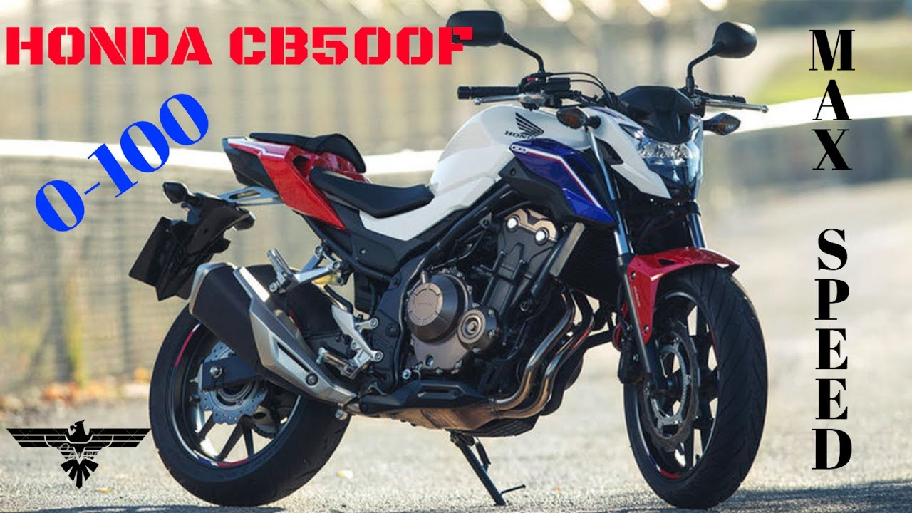 honda cb 500 f 2018 0 100 km h in 6th gear top speed youtube. Black Bedroom Furniture Sets. Home Design Ideas
