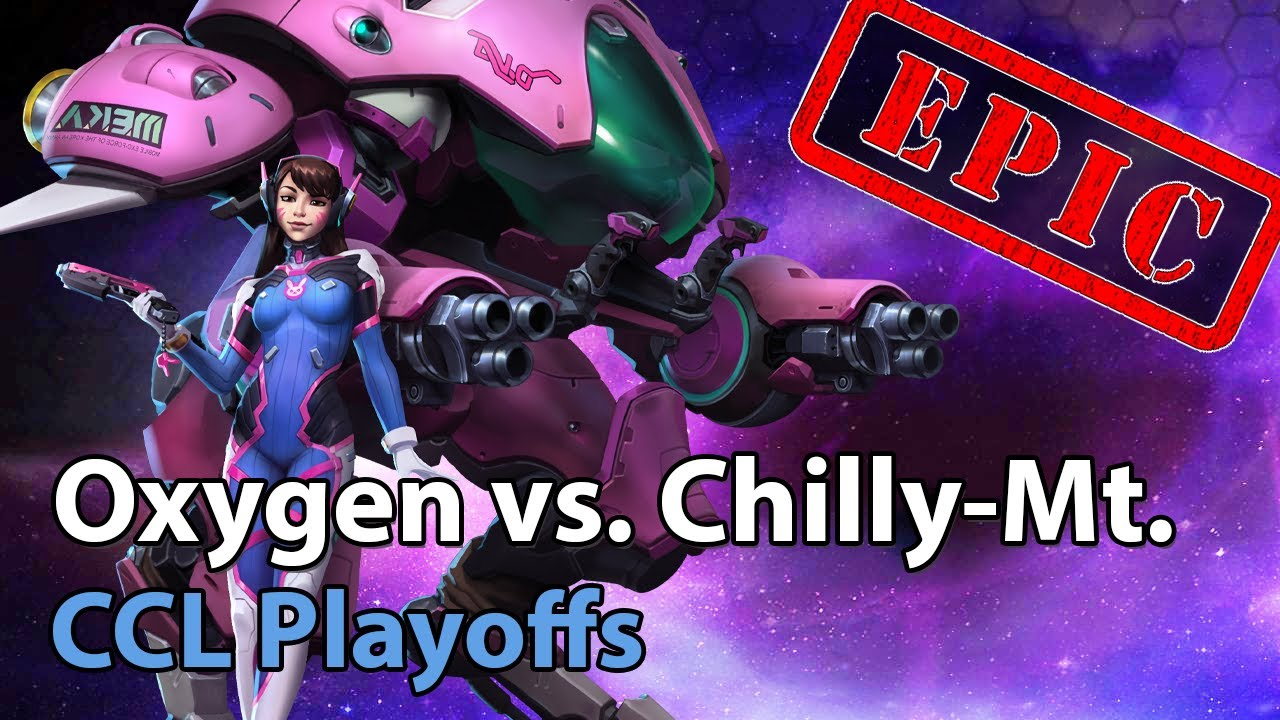 Chilly Mt. vs Oxygen - CCL - Heroes of the Storm 2021