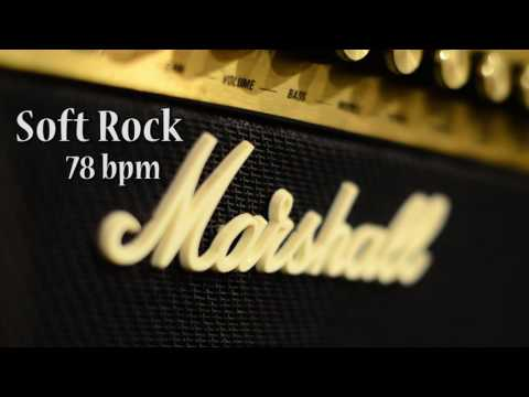 Soft Rock Guitar Backing Track in D Minor 78 bpm