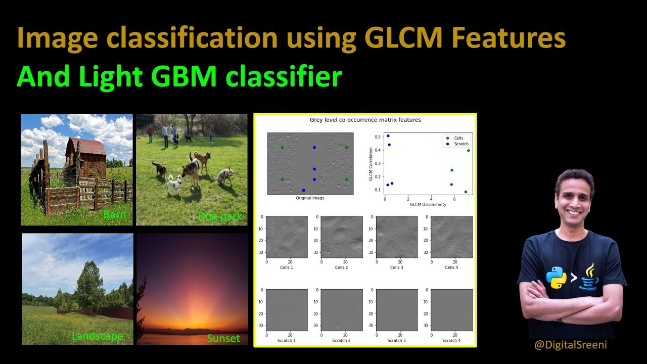 Image Classification Using Gray-Level Co-Occurrence Matrix (GLCM) Features and LGBM Classifier