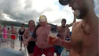 Catamaran Beer Save - Cool Runnings - Ocho Rios Jamaica 2013