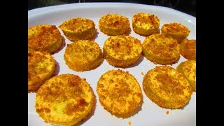 BAKED YELLOW SQUASH in 12 Minutes   Oven Fried YELLOW SQUASH   How to bake SQUASH Recipe