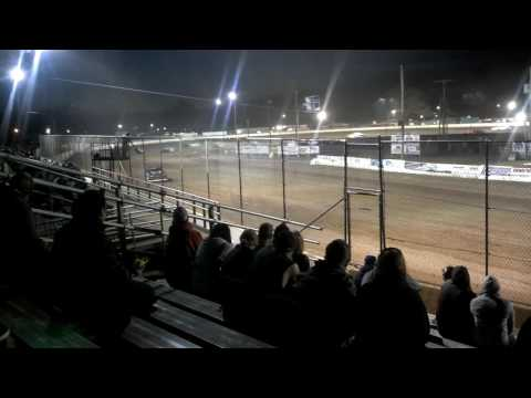 Red Cedar Speedway-#1 Tim Johnson Street Stock Heat Race 2015