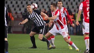 Crvena zvezda - Partizan 1:1, 159. derbi, ceo meč