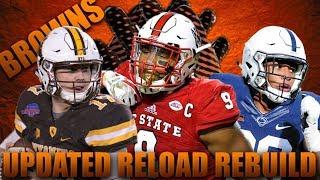 4 Straight Super Bowl Matchups! Draft Rebuild Reload of the Cleveland Browns!   Madden 18 Rebuild