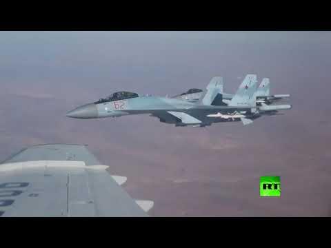 -العنقاوات- ترافق طائرة شويغو فوق سوريا  - نشر قبل 2 ساعة
