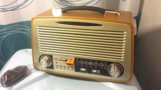 Retro магнитола MP3 KEMAI MD-1700U