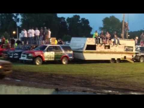 Trailer Race St Charles MN 7/9/16