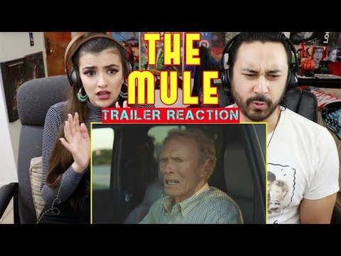 THE MULE - Official TRAILER REACTION & REVIEW!!!