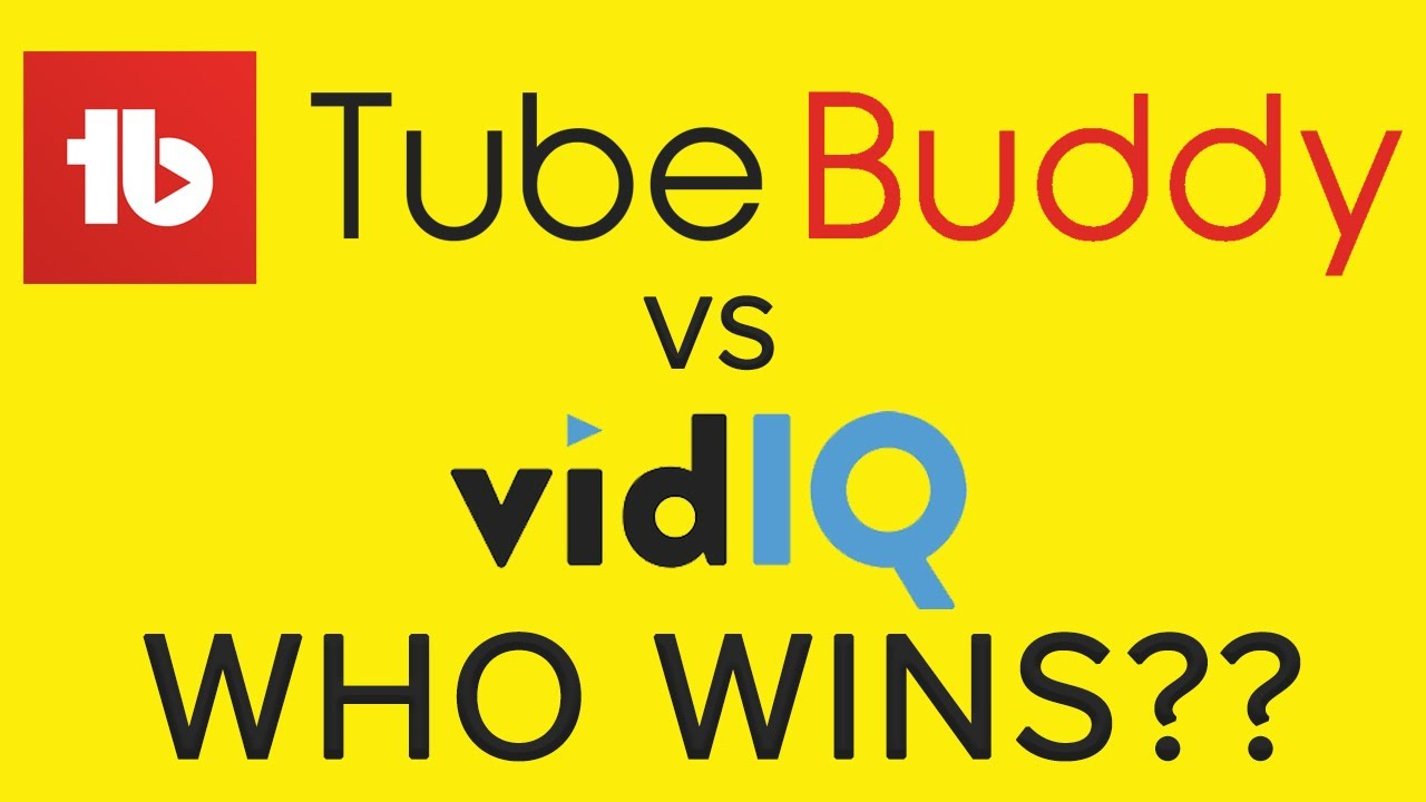 Download TubeBuddy vs VidIQ 2021 Which is the BEST Keyword Research Tool for YouTube