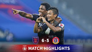 Highlights - Odisha FC 6-5 SC East Bengal - Match 108 | Hero 2020-21