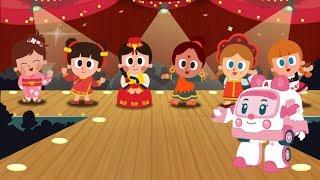 Робокар Поли - Национальные костюмы (Global costumes) - Детская песенка