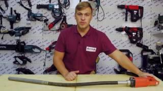 видео Строительные вибраторы для бетона: глубинные (погружные), портативные (ручные), переносные, поверхностные, цены и изготовление своими руками