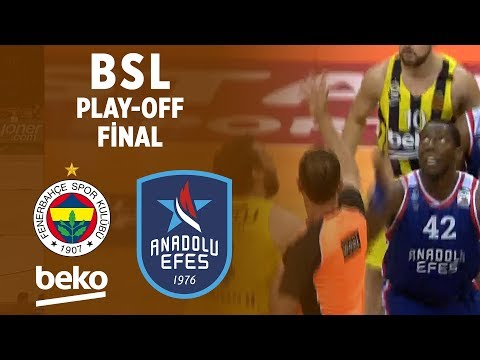 BSL Play-Off Final 3. Maç Özeti | Fenerbahçe Beko 57-74 Anadolu Efes