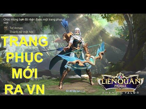 Trang phục mới ra mắt Việt Nam: TEL' ANNAS Thánh nữ mật hội các hiệu ứng biến về, tế đàn.. cực chất