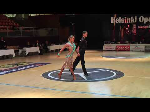 WDSF Open Latin | Final Presentation Rumba | Helsinki Open 2017
