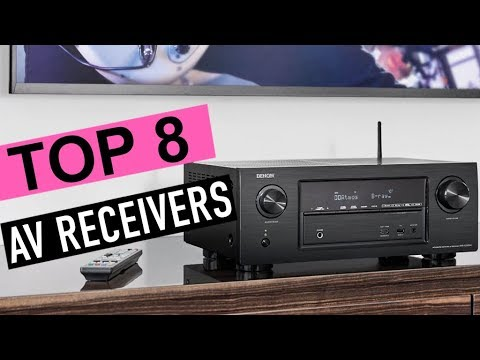 BEST 8: AV Receivers 2019