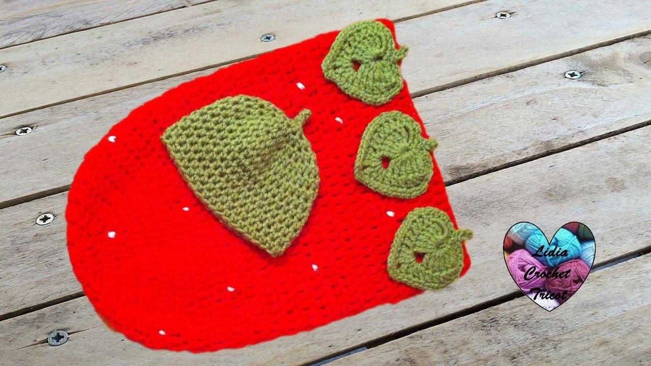 Cocoon fraise bébé crochet très facile / Capullo tejido a crochet ...