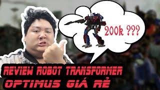 Review Robot biến hình Optimus giá rẻ (Optimus WeiJiang L7022D model price 9$)
