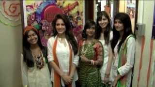 Model Shweta Khanduri Celebrates 69th Independence Day With INIFD
