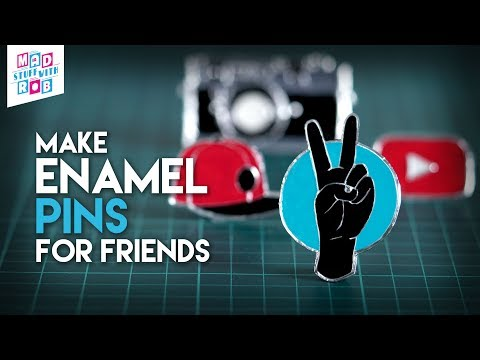 Enamel Pins to make in a Budget | In Hindi | Friendship Day Special