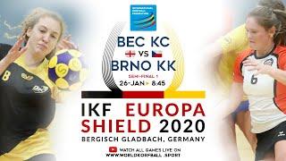 IKF ES 2020 Bec Korfball Club - Brno KK