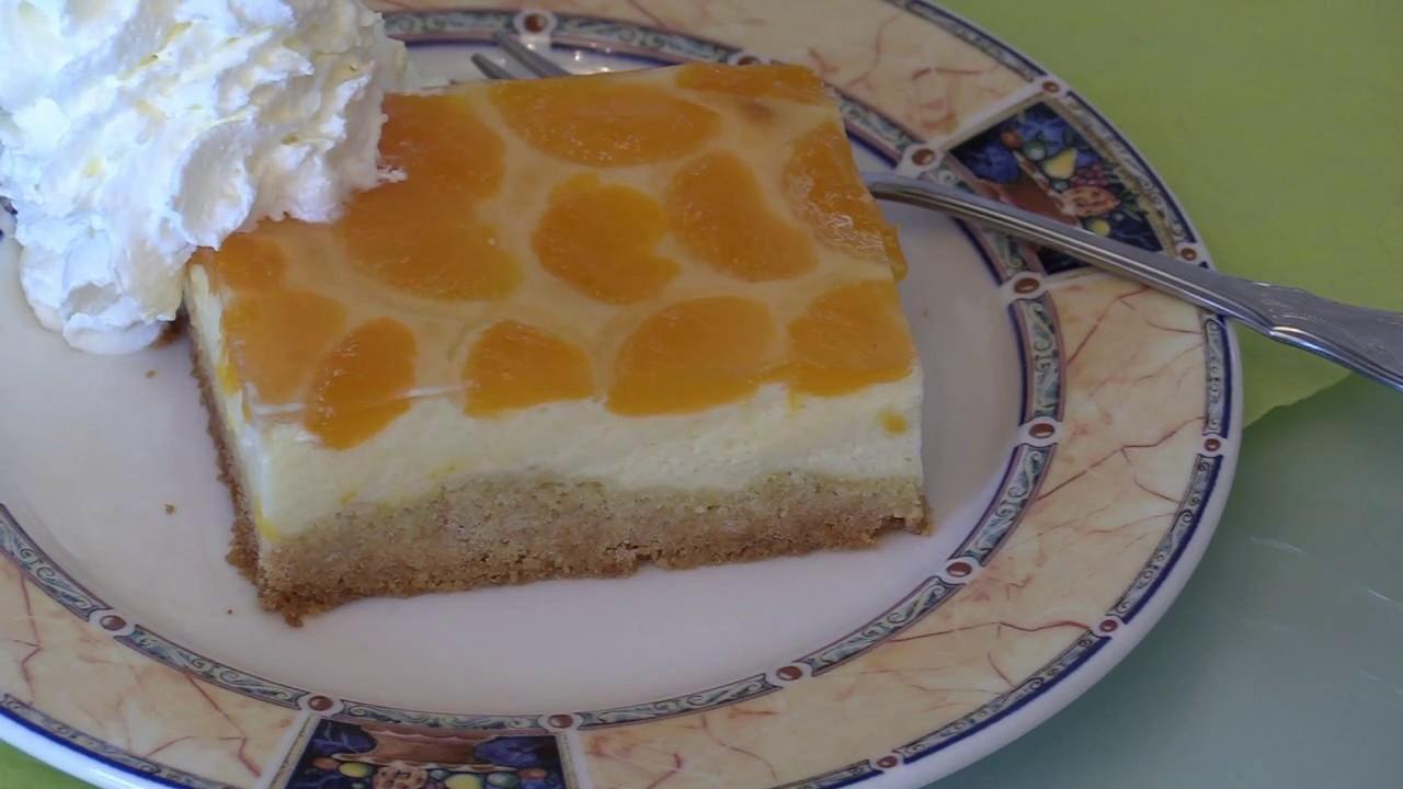 Mandarinen Schmand Kuchen Schritt Fur Schritt Mit Rezept Youtube