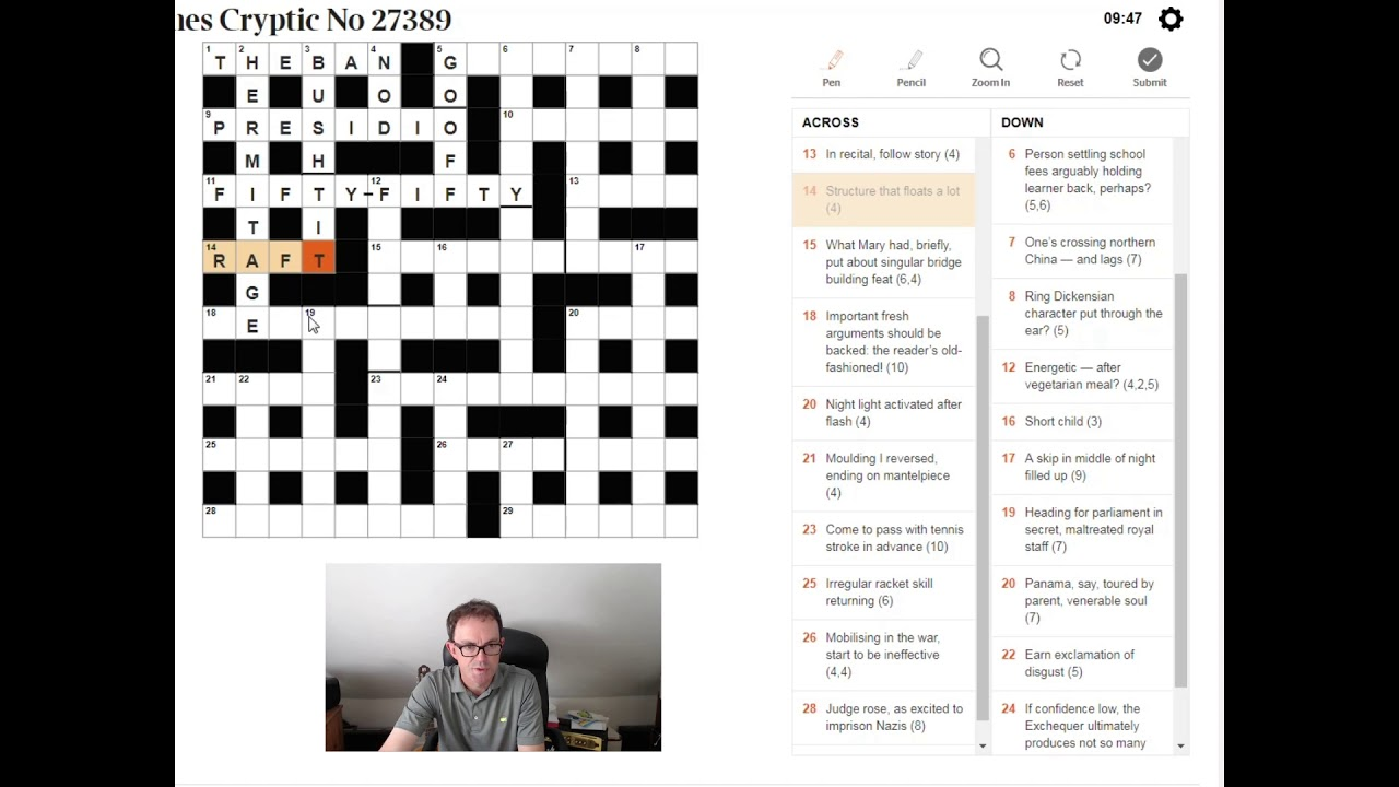 Cryptic Crossword Clues Explained Youtube