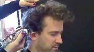 John Bobey Gets a Haircut