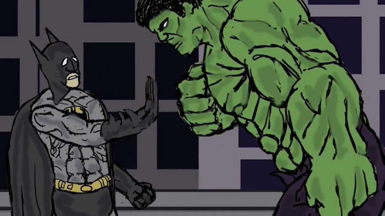 BATMAN VS HULK  YouTube