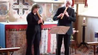 Gottfried Finger Duo in d - Peter Wells & Maria Sanger