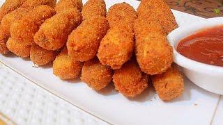 Paneer  Fingers/ कुरकुरी पनीर फ़िंगर्स  /Crispy Paneer Fingers /Paneer Snack recipe/kids recipe
