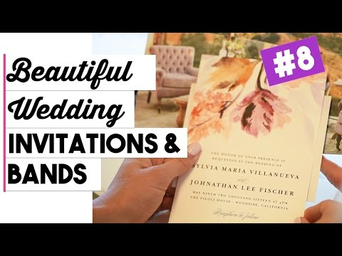 wedding-invitations-&-wedding-bands-|-wedding-wednesdays-ep.-8-|-wedding-details