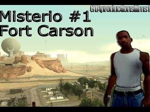 Misterios Del GTA San Andreas (No Mods) - 1# Caballeria Fantasma Fort Carson