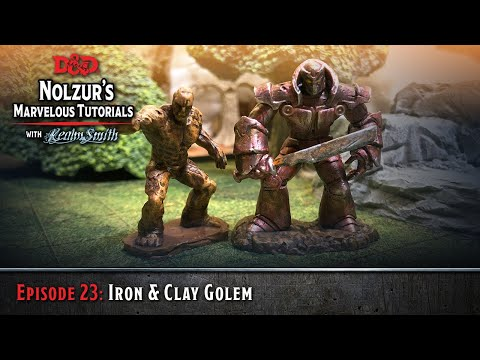 Ep. 23: Iron & Clay Golems - D&D Nolzur's Marvelous Tutorials With RealmSmith
