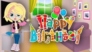 ВИДЕО ПОЗДРАВЛЕНИЕ С ДНЕМ РОЖДЕНИЯ Мультфильм в подарок на день рождения