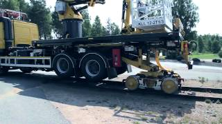 Road Rail Multi Purpose Maintenance Vehicles made by SRS in Sweden