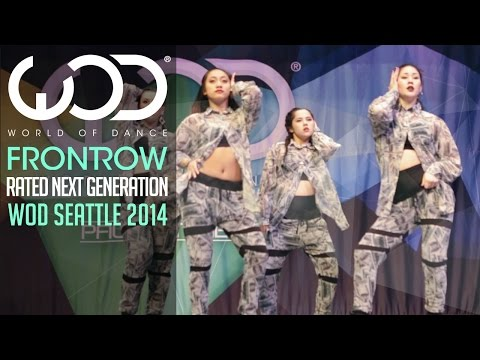 RNG | FRONTROW | World of Dance, Seattle 2014 #WODSEA