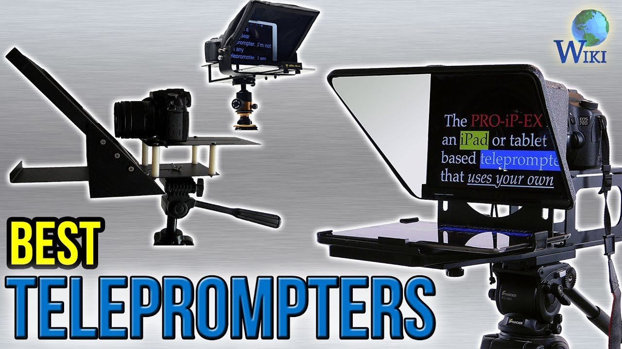 8 Best Teleprompters 2017 Youtube