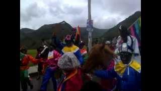 Fiesta por el cierre de campaña (Pachakutik de la provincia de Cotopaxi - Ecuador)