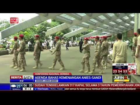 Anies-Sandi Hadiri Konferensi Nasional Gerindra di Bogor