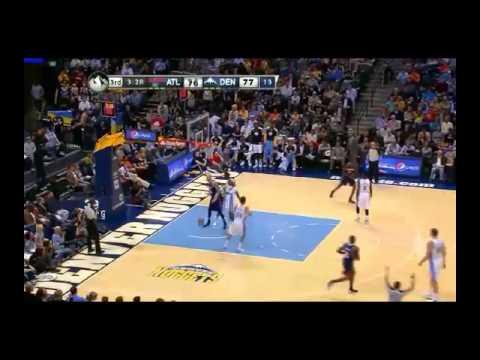 NBA CIRCLE - Atlanta Hawks Vs Denver Nuggets Highlights 7 Nov. 2013 www.nbacircle.com